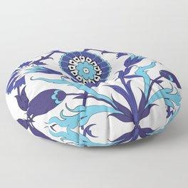 Turkish Tile Art Pattern Floor Pillow