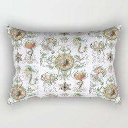 Ernst Haeckel - Trachomedusae (Jellyfish) Rectangular Pillow