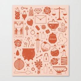 Love Potion: Valentine Canvas Print
