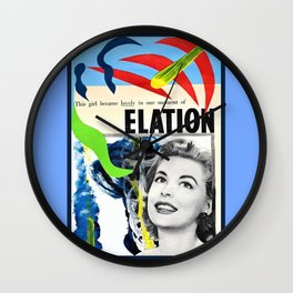 Moment of Elation Wall Clock