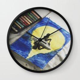 Ariel Pastel Wall Clock