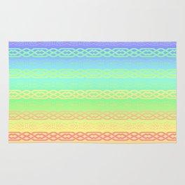 Freedom (pastel rainbow) Rug