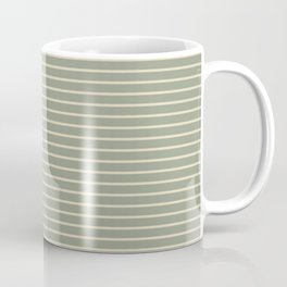 Seafoam Neutral Striped Palette Coffee Mug