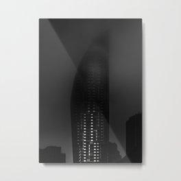 Downtown Toronto Fogfest No 19 Metal Print