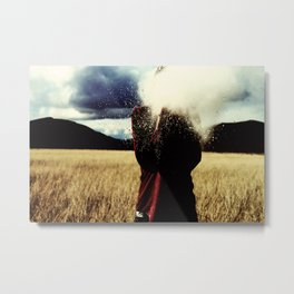 Only The Wind Knows How To Catch Me. Metal Print