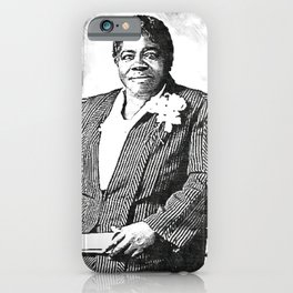 Mary Jane McLeod Bethune - SketchArt - American Educator Society6 Online Artworks 899 iPhone Case