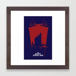 #AmazingSpiderMan‬ Final Poster Framed Art Print