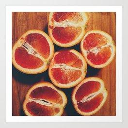 A la Citrus Art Print
