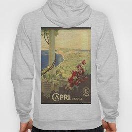 Capri, Napoli (Italy) - Vintage Poster Hoody