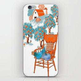Farm Animals in Chairs #4 Chicken iPhone Skin