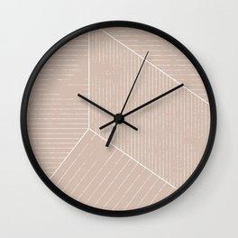 HATCH CREAM Wall Clock