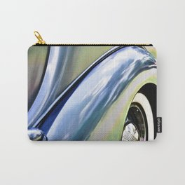 Antique Car Metal Carry-All Pouch