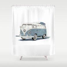 Volkswagen Transporter Shower Curtain