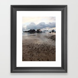 Mud Beach Framed Art Print