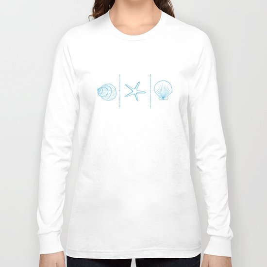 Three Shells #002 Long Sleeve T-shirt