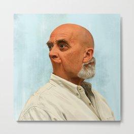 Portraits in Retrograde - Jeff Metal Print