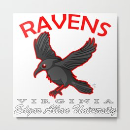 Raven exy team Metal Print
