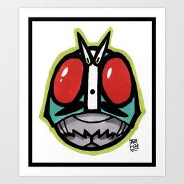 Kamen RYDR!! Art Print