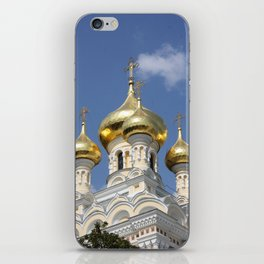 Onion Domes Alexander Nevsky Cathedral iPhone Skin