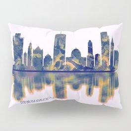 Jerusalem Skyline Pillow Sham