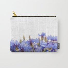 Bunch of blue cornflower flowerheads Carry-All Pouch