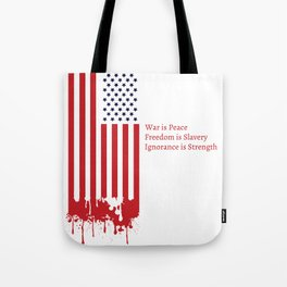 """""""Today's Oceania"""" Inspired by George Orwell's 1984 Tote Bag"""