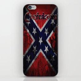 Distressed Confederate Flag iPhone Skin
