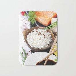 traditional asian ingredients Bath Mat