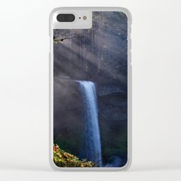 Silver Falls Clear iPhone Case