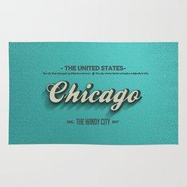 Vintage Chicago Rug