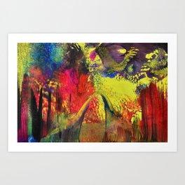 Abstract 100 - Fantasy World Art Print