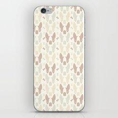 Boston Terrier Wood Pattern iPhone & iPod Skin