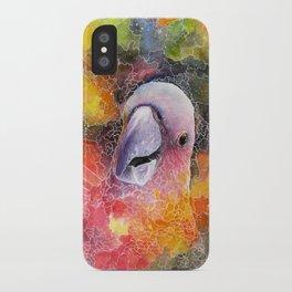 Nebula Cacatuidae iPhone Case