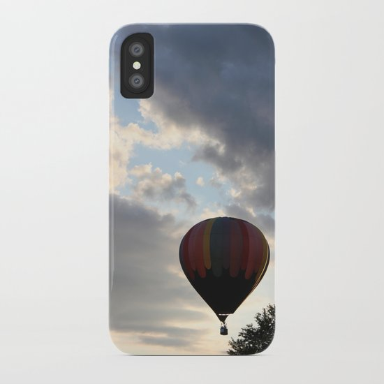 Adrift Amongst the Clouds iPhone Case