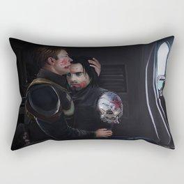 Civil War Missing Scene - Escape to Wakanda Rectangular Pillow