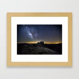 Mount Hoffman Framed Art Print