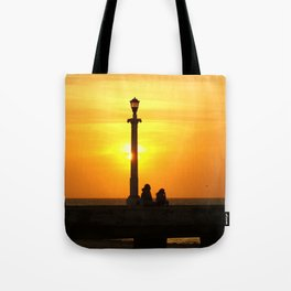 Romancing The Sunset 2 Tote Bag
