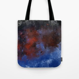 Turmoil - Acrylic Abstract Painting Tote Bag
