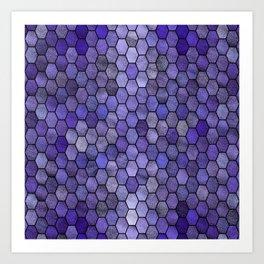 Glitter Tiles IV Art Print