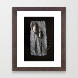 Etiquette IV Framed Art Print