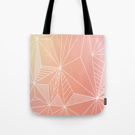 Paradise Geo Blush Tote Bag