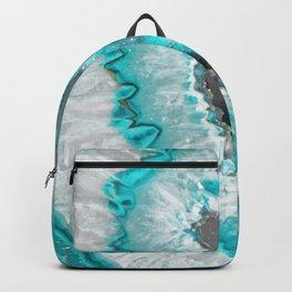 Ice Teal Agate Backpack