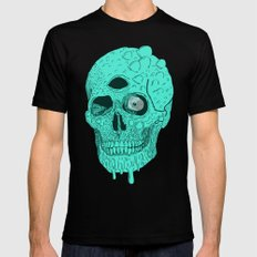 Beetle Skull  2X-LARGE Black Mens Fitted Tee