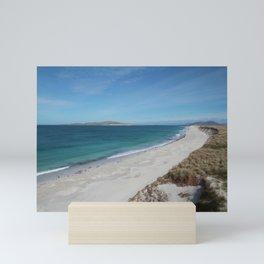 West Beach, Isle of Berneray Mini Art Print