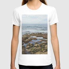 Reflective Pools on the Coast of La Jolla, San Diego T-shirt