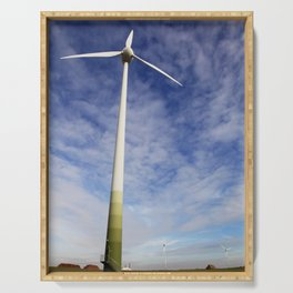 Wind power Serving Tray