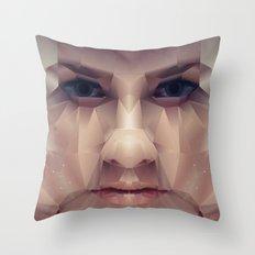 Facet_AB1 Throw Pillow