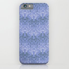 Isabella in Periwinkle iPhone Case