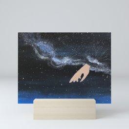 Milky Way with her Mini Art Print
