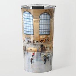 Shadows of Grand Central Travel Mug